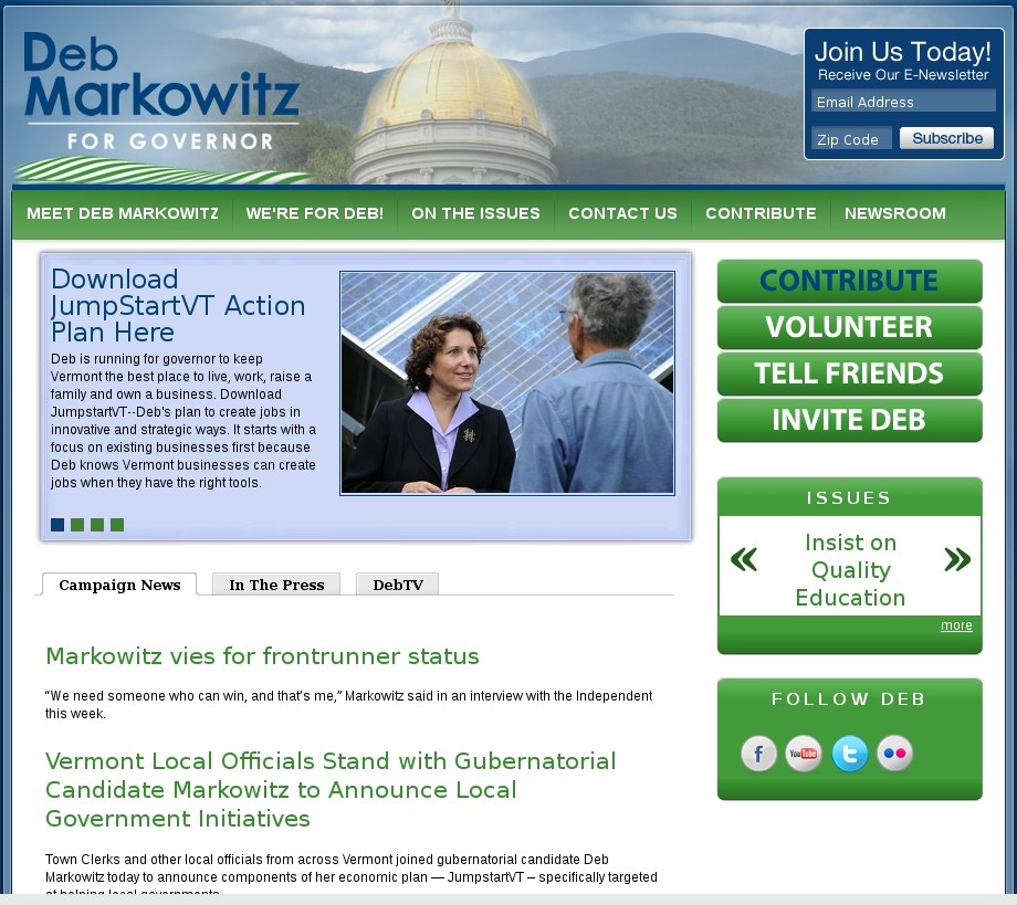 Markowitz Website
