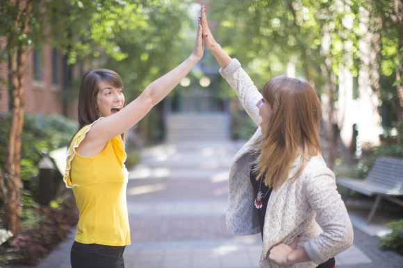 HubSpot High Five featuring Champlain College alumna Brittany Leaning